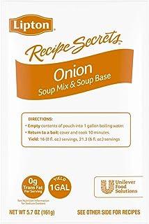Lipton Soup Mix Onion 5.7 oz, Pack of 12