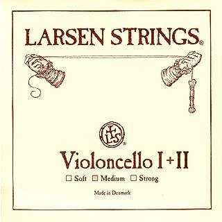 Larsen 4/4 Cello A 和 D 组合装中号规格