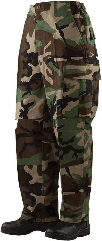 Tru-Spec 1276 男士 BDU 裤,NYCO 防撕裂,林地色 XX-L 1276007