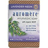 Auromere Bar Soap Ayurvd Lav Neem 2.75 Oz