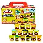 孩之宝 Play-Doh 培乐多彩泥 20色装