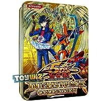 YuGiOh 5Ds 2010 Duelist Pack 特殊收藏锡盒(带有星光之路的黄锡,同步钻,速度勇士,提前抽取)