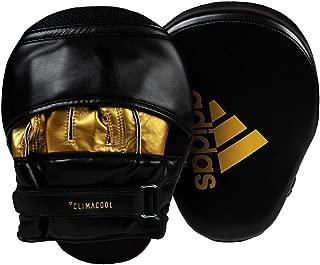 阿迪达斯训练 Curved Focus 中帮手垫,黑色/金色,26 x 18 x 9厘米