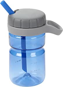 OXO 奥秀 吸管杯旋转开口硅胶吸管杯354ml 蓝色
