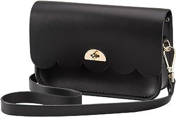 The Cambridge Satchel Company 女式 小云包 CAP1P 黑色 小号(亚马逊进口直采,英国品牌)