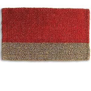 """标签 - 双色相圈垫,适合前港、庭院或入户旅行的全季装饰垫 30"""" x 18"""" x 1"""" 多种颜色 240003"""