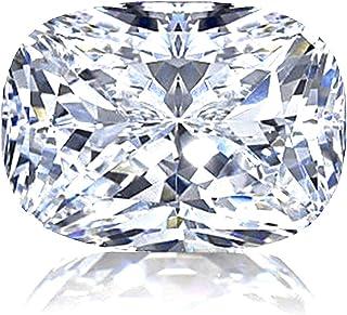 Diamonbella 逼真 101 面 2 克拉矩形垫型切割 NSCD 仿钻宽松宝石