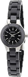 ny8645女式 DKNY 黑色陶瓷手链手表