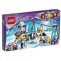 【爆款直降】LEGO 乐高 好朋友系列 心型湖 滑雪圣地 41324