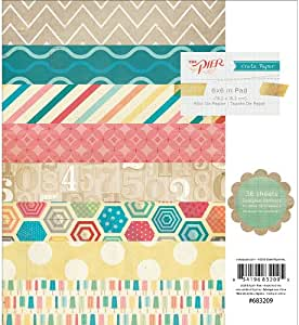 Crate Paper The Pier Paper Pad, 6 by 6-Inch