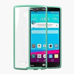 LG G4 手机壳,JOTO LG G4 手机壳,修身款/水晶透明/混合手机壳/角缓冲【带透明背板的缓冲手机壳】,LG G4 (2015) 保护性手机壳(透明/*)