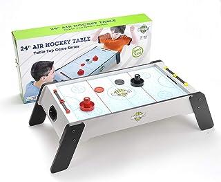 United Sports 24 英寸木制空气曲棍球桌游戏