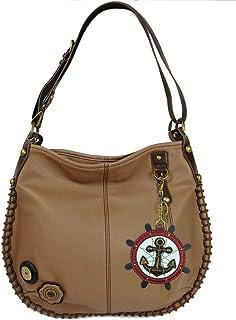 chala 斜挎包手提包 HOBO 风格休闲柔软大号包肩或斜挎包