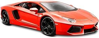 Maisto Lamborghini Aventador LP 700-4 压铸汽车 金属橙色