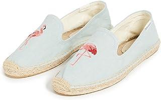 Soludos  女 限量款  火烈鸟 Flamingo Embroidery SM Slipper 平底鞋 FSS1505