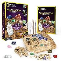 Mega Gemstone Mine 宝石矿挖掘套装:美国国家地理杂志伴您挖掘15颗真正的宝石