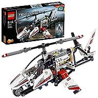 LEGO 乐高  拼插类 玩具  Technic 机械组系列 超轻型直升机 42057 8-14岁