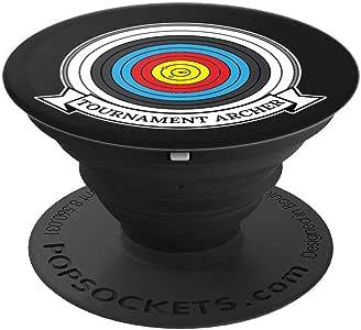 竞赛射手射箭黑色 – PopSockets 手机和平板电脑握架260027  黑色