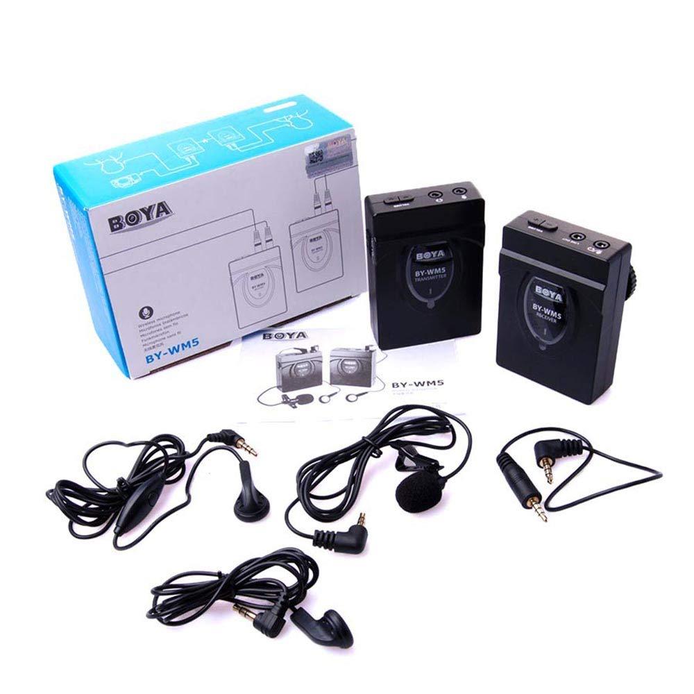 BOYAによって-WM5キヤノンニコンDVカメラ用無線ラベンダーマイクロホンシステム