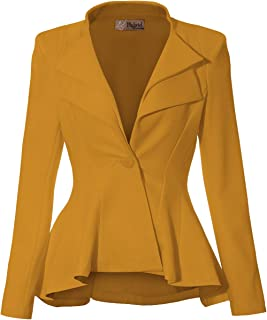 混合 & Company 女式双 V 翻领 SHARP 肩垫办公西装