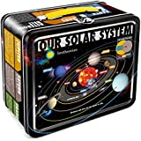Aquarius Smithsonian Solar System Tin Lunch Box