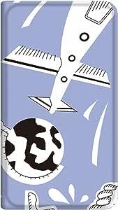 智能手机壳 手册式 对应全部机型 薄型印刷手册 cw-211top 套 手册 动画 极薄 轻量 UV印刷 壳WN-PR016406-S AQUOS PHONE 103SH 图案D