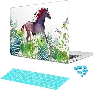 Batianda 草本动物水彩画塑料硬壳手机壳A1369/A1466 Macbook Air 13 (A1466/A1369)