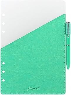 filofax 斐來仕 A5 綠色 341005 多功能分隔頁 帶口袋 筆槽 附帶filofax原子筆