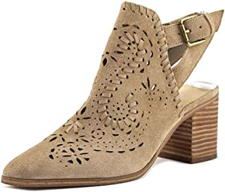 Ivanka Trump Dora 粗跟靴灰褐色 8.5 M