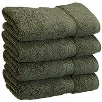 Superior 900克埃及棉4件擦手巾套件  森林绿