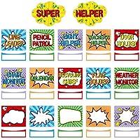 Super Helper 课堂工作布告板套装亮色课装饰52PCS