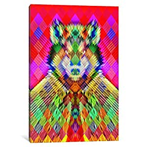 iCanvasART AGC4-1PC6-26x18 Corporate Wolf Canvas Print by Ali Gulec, 1.5 by 18 by 26-Inch