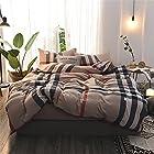 素风家纺 日式无印水洗棉全棉四件套 1.5米-1.8米宽床单款 195元包邮(需用码)