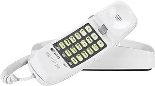 AT&T 210M Trimline 有线电话 白色 白色