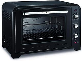 Moulinex 披萨烤箱对流 Optimo 60 升 黑色 7 级烹饪级别 yy2917fb