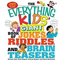 The Everything Kids' Giant Book of Jokes, Riddles, and Brain Teasers (Everything® Kids) (English Edition)