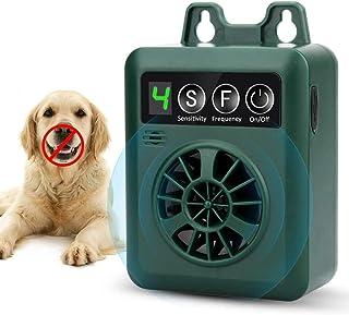 Fulie 止吠装置,防吠装置,带 3 个可调节超声波音量级别,自动超声波狗狗止吠器,适用于小型中型大型犬