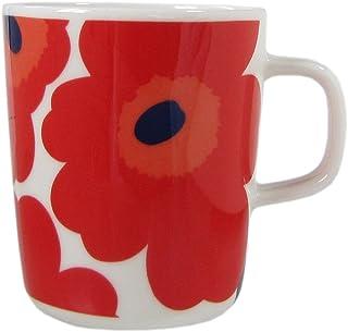 MARIMEKKO 马克杯 Unikko 罂粟印花 063431 250毫升 7种颜色 ホワイト レッド 9.5×10.5×8 63431 001