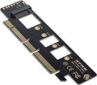 Xiwai NGFF M.2 M-Key NVME AHCI SSD 到 PCI-E 3.0 16x 4X 适配器适用于 110mm 80mm SSD
