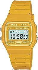 Casio Men's Quartz Watch with Digital Display and Resin Bracelet