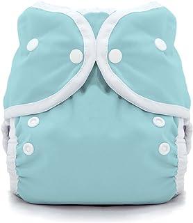 Thirsties Duo Wrap Cloth Diaper Cover - Aqua - Size 1 - Snap