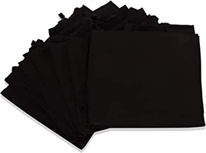 """DALIX 20"""" Extra Large Reuseable Eco-Friendly Recycled Material Tote Bag in Black-12 PACK"""