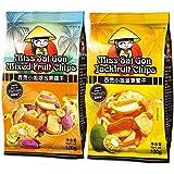 Miss SaiGon西贡小姐(菠萝蜜干+综合果蔬干双包组合装100g*2)200g(越南进口)