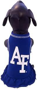 NCAA Air Force Falcons Cheerleader Dog Dress, Small