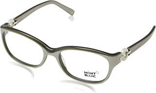 Montblanc MB0442/V 057 Taupe Pearl Oval Opticals