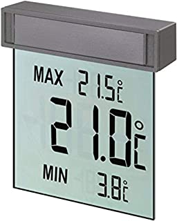 TFA Dostmann 电子温度计,可视窗口,19.3 x 4.2 x 26.7厘米