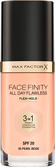 Max Factor Facefinity All Day Flawless 3 In 1 Foundation SPF 20 30ml