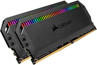 CORSAIR DOMINATOR PLATINUM RGB 32GB (2x16GB) DDR4 3466 (PC4-27700) C16 1.35V - 黑色