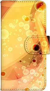 智能手机壳 手册式 对应全部机型 印刷手册 wn-127top 套 手册 线条效果 UV印刷 壳WN-PR054871-ML AQUOS SH-M02 图案G