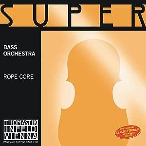 Thomastik-Infeld 2883.4 Super Flexible Double Bass Single E String, 1/2 Size, Steel Core, Chrome Wound
